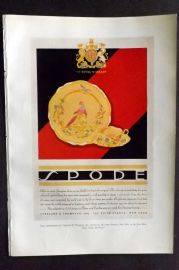 The Studio 1931 Art Deco Print. Press Advertisement for Copeland & Thompson